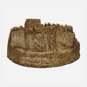 Figure de pierre de citadelle d'Alep